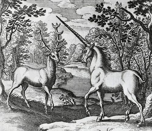 Stag and Unicorn