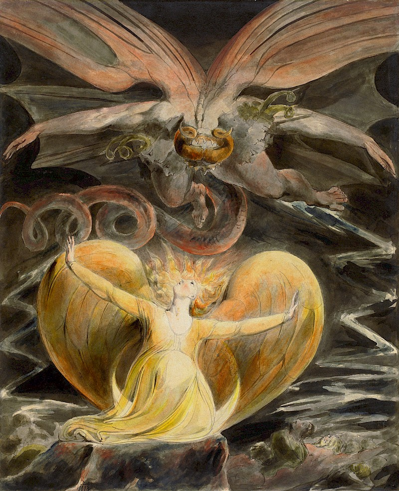 william_blake_-_the_great_red_dragon_and_the_woman_clothed_in_sun_1805-1810_40x32_5cm_national_gallery_of_art_dc.800x0
